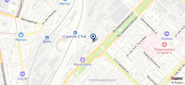 Приволжский участок по производству электротехнической продукции №2 на карте