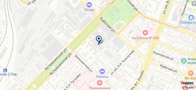 Unisar на карте