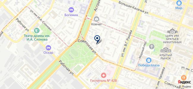 Bizzarro интерьер на карте