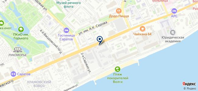 Национальный регистрационный центр, ООО на карте