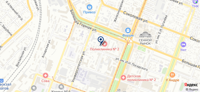 Этна на карте