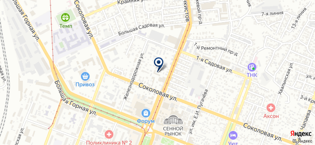 Спецторг Саратов на карте