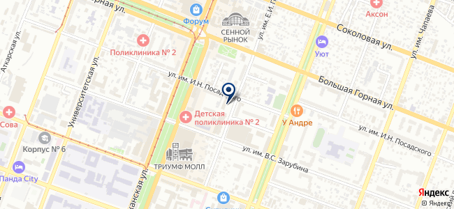 Эпифит на карте