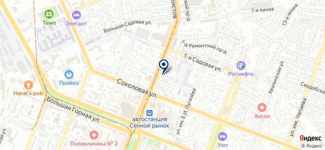 Метизный двор на карте