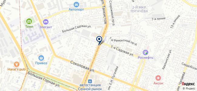 Термодар-Саратов на карте
