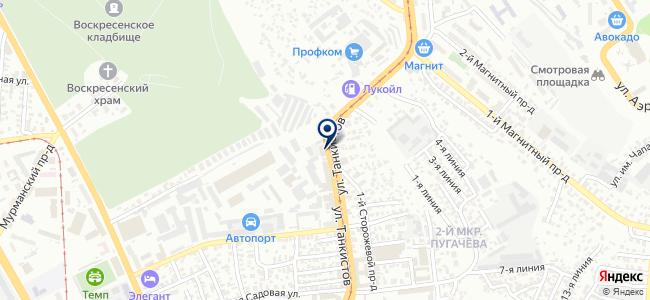 Инжектор ТТЦ на карте