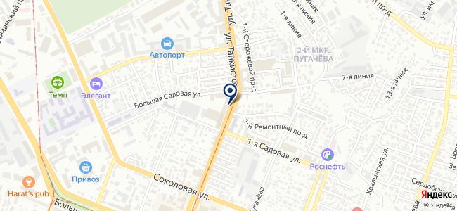 Риттал на карте