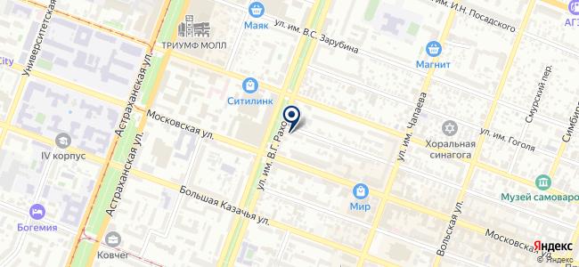 Комиссионный магазин неликвидных радиотоваров на карте