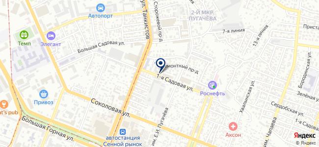 Восток-Сервис-Поволжье, ЗАО на карте