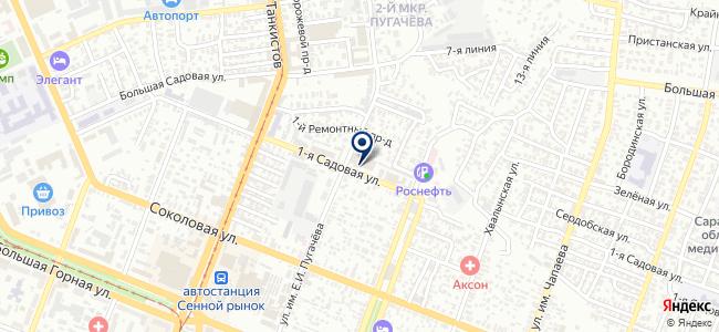 Управление пассажирских перевозок на карте