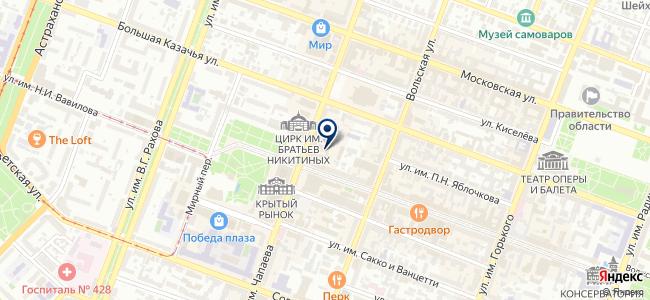 ПФО на карте