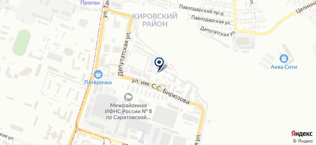 Метаполь на карте