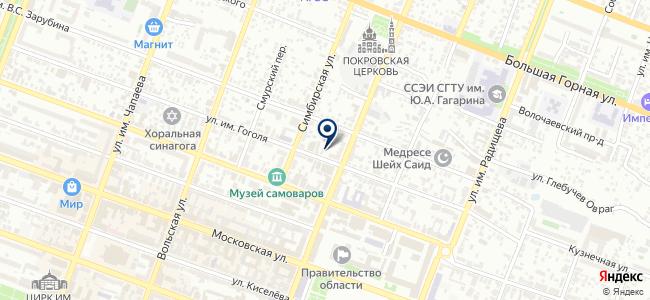 Кандела, ООО на карте