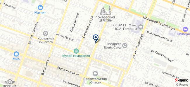 Саргазстроймонтаж на карте