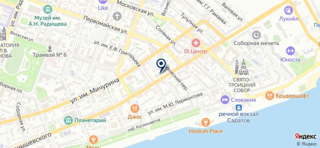 Климат64.ру на карте
