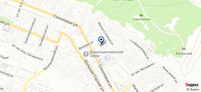 Вулкан, ЗАО на карте