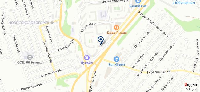 Канцwell на карте