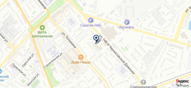 Энгельсспецремтехпред, ООО на карте