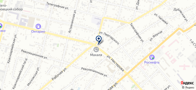 Электродвор на карте