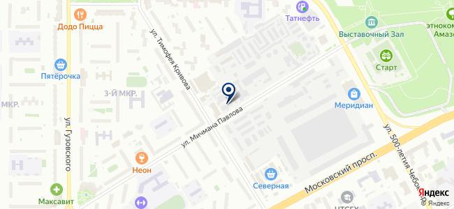 Смирнов бэттериз на карте