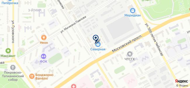 Галлео, ООО на карте
