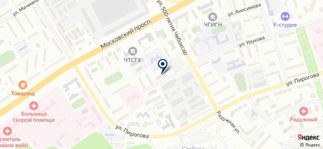 Чебоксарский завод электроустановок, ООО на карте