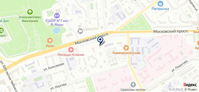Чебоксарский электротехнический завод, ООО на карте