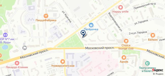 Электрохаус на карте