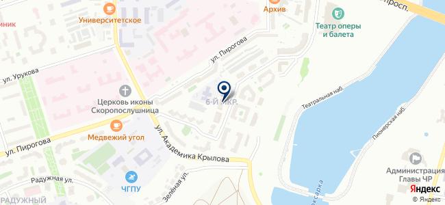 Чебоксарская электротехническая компания, ЗАО на карте