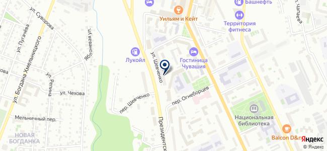 Теллев, ЗАО на карте
