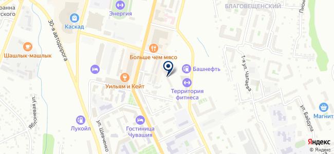 Тепло 21, ООО на карте
