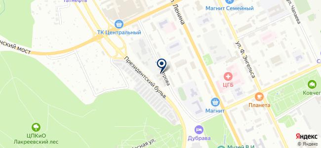 Эйм-Дифераль, ЗАО на карте