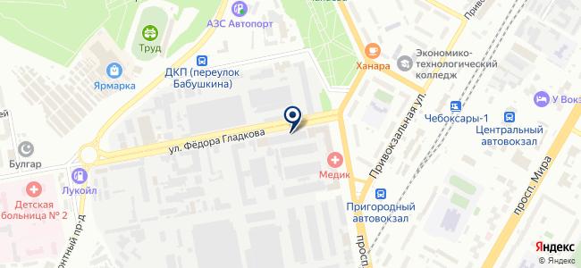 Экра, ООО на карте