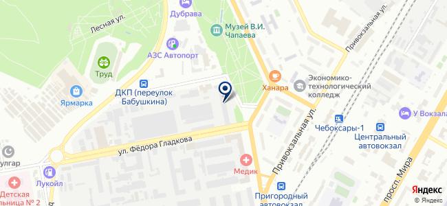 АБС Автоматизация, ОАО на карте
