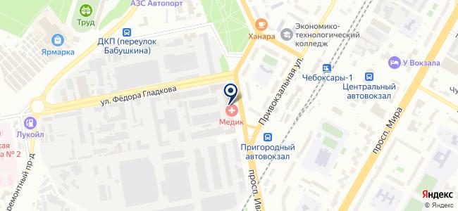 ИНТЕХНО на карте