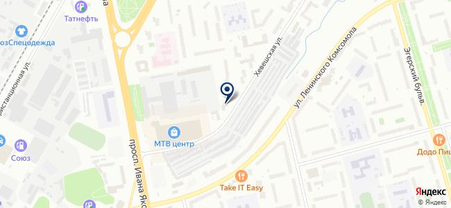 Оптово-розничная компания на карте
