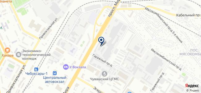 Экомед на карте
