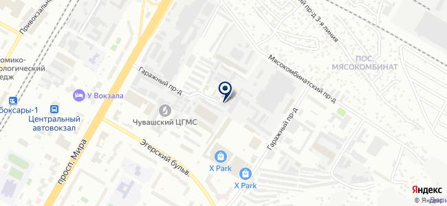 Промэнерго, ЗАО, производственная компания на карте