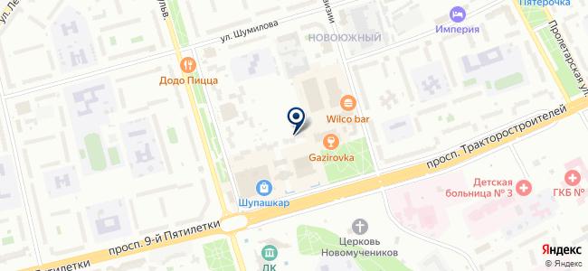 Промснабкомплект, ООО на карте