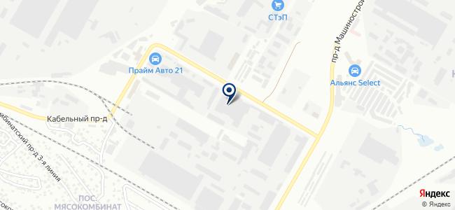 Чувашкабель, ОАО на карте