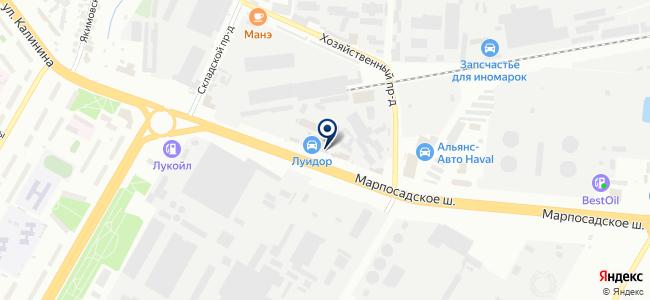 Центрснаб, ООО на карте
