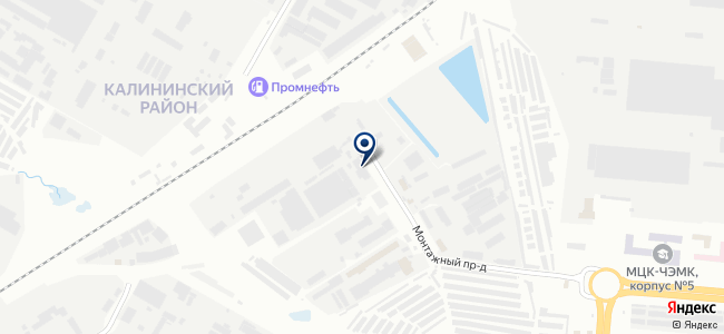 Электросила, ЗАО, Чебоксарский завод силового электрооборудования на карте
