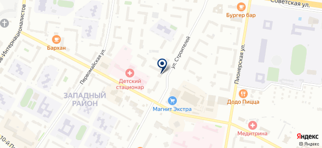 Спецэлектромонтаж, ООО на карте