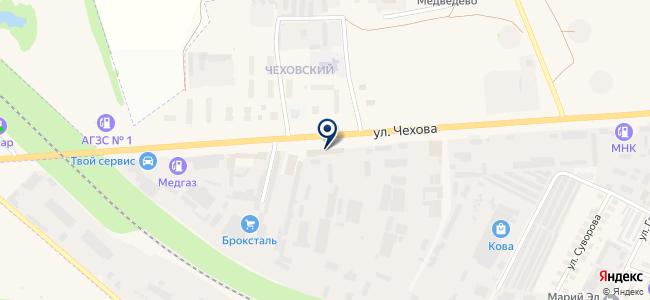 Алькон, ЗАО на карте