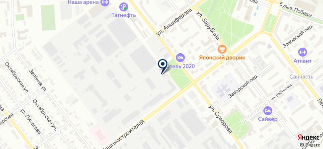 Завод полупроводниковых приборов, ОАО на карте