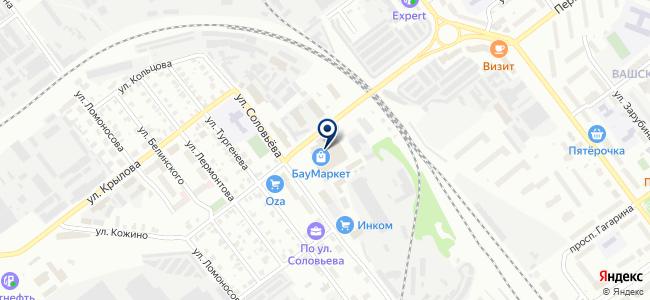 БауМаркет на карте