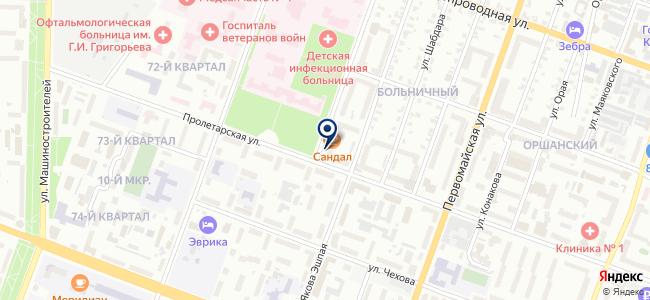 Связь-М на карте