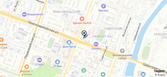Синтакс на карте