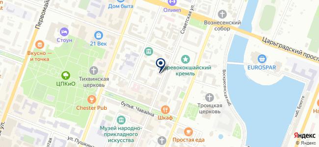 Актюбе на карте