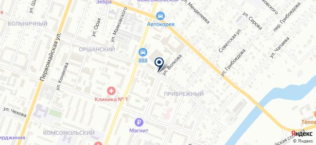 Йошкаролинское пассажирское автотранспортное предприятие №2 на карте